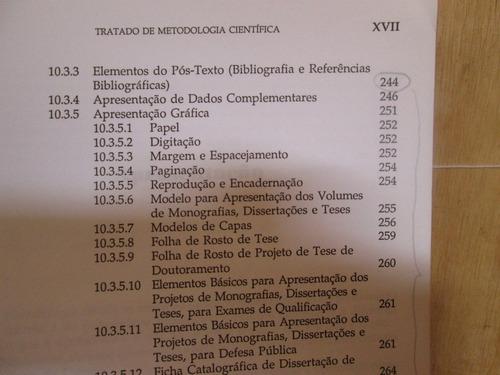 tratado de metodologia cientifica