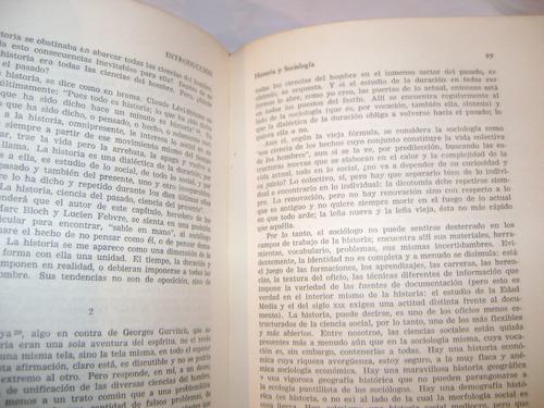 tratado de sociología.  george gurvitch.  literatura