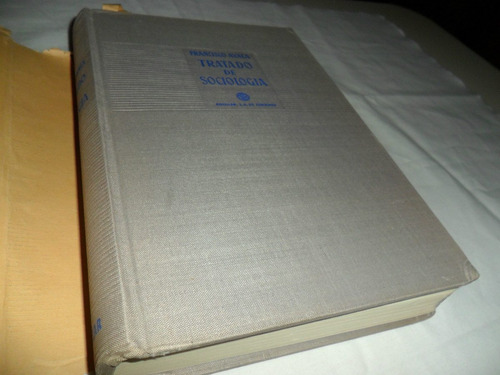 tratado de sociología, por francisco ayala