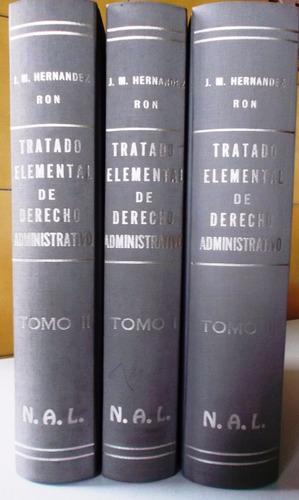 tratado elemental de derecho administrativo