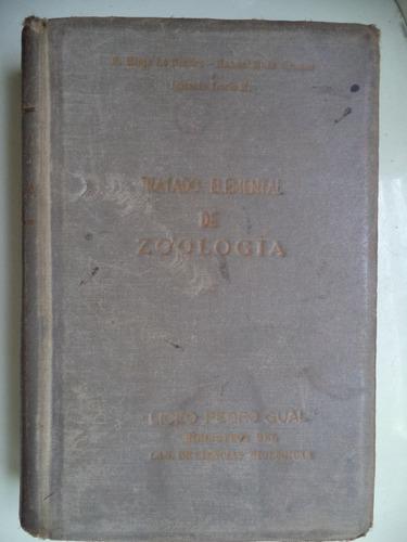 tratado elemental de zoología - varios autores