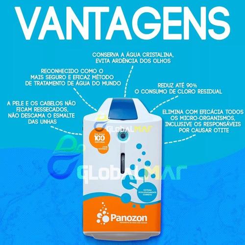 tratamento de ozônio p/ piscinas standard 100 100.000 lts
