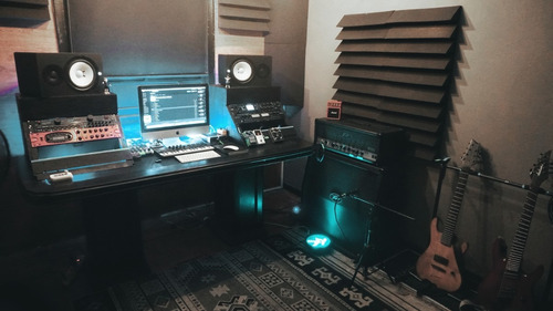 tratamento e isolamento acústico para estúdio.