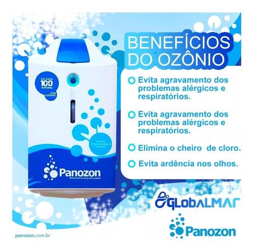 tratamento para piscinas com ozônio standard 100 panozon