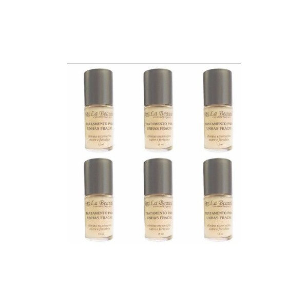 8082b9994 Tratamento Para Unhas - La Beaute - 6 Peças - R  177