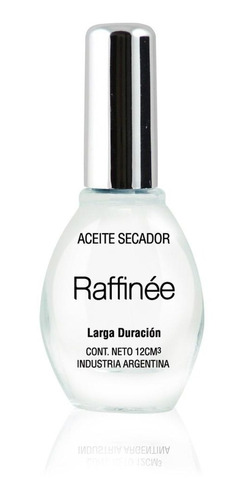 tratamiento aceite secador para uñas raffinée
