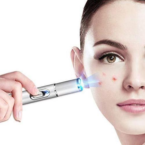 tratamiento acné luz azul elimina arrugas finas manchas