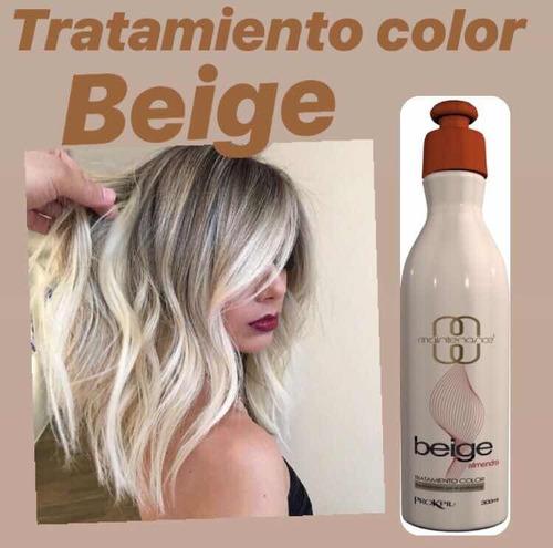 tratamiento color beige prokpil