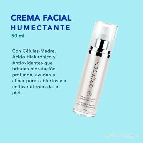 tratamiento facial antiedad + crema humectante de regalo