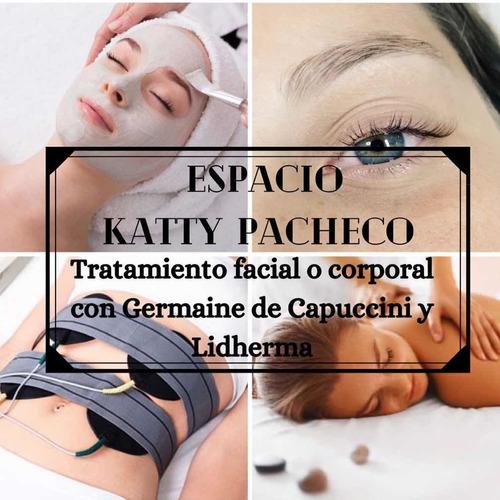 tratamiento facial o corporal con germaine y lidherma