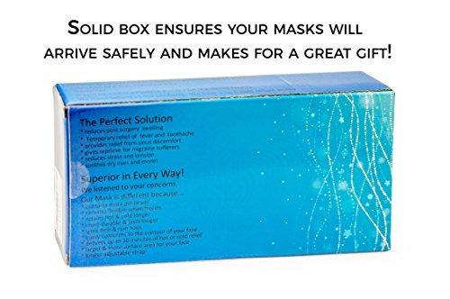tratamiento facial ojo máscara 2 pack, desestresarse  y