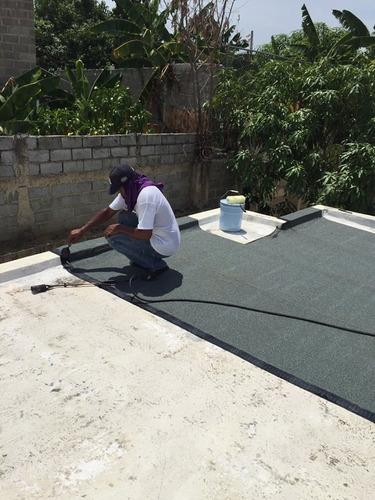 tratamiento filtraciones e impermeabilizacion de techos