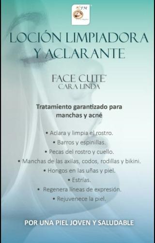 tratamiento garantizado para manchas y acné