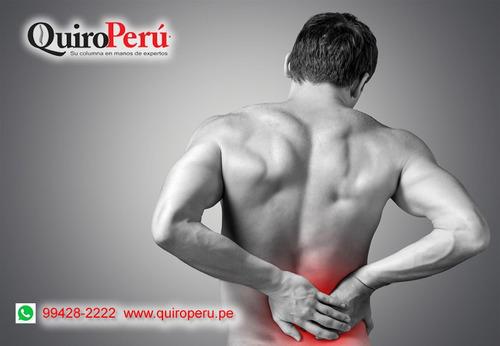 tratamiento hernia discal sin cirugías