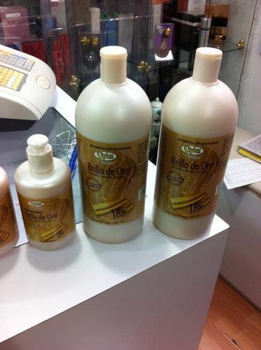 tratamiento intensivo brillo de oro cabello estylex sin sal
