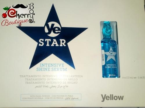 tratamiento  intensivo de reparación y brillo ye star