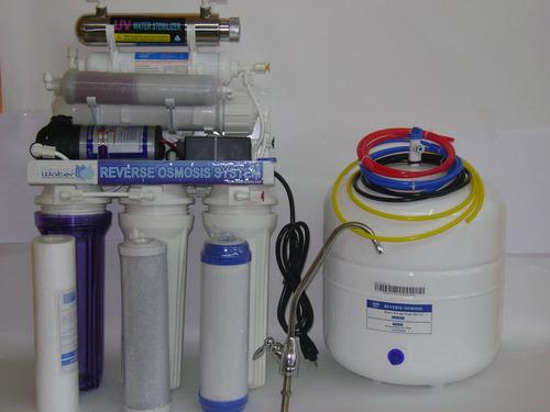 tratamiento para agua con osmosis inversa, 7 etapas