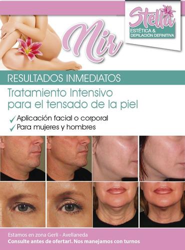 tratamiento para el tensado de la piel