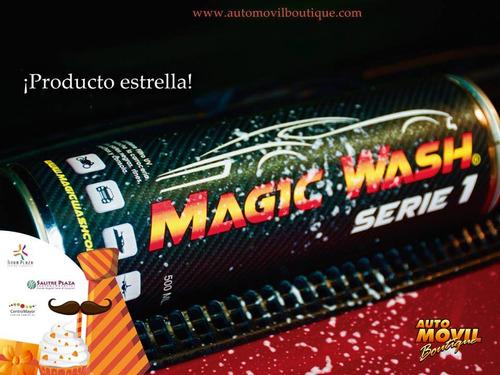 tratamiento para la pintura de tu carro - magic wash serie 1