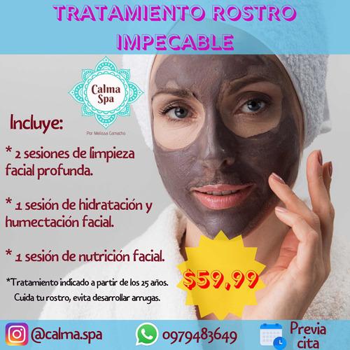 tratamiento para rostro reluciente e impecable
