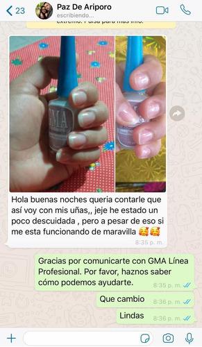 tratamiento uñas gma linea profesional