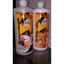 Cirugia Capilar Gold Diamond 1ltro Original Incluye Shampoo
