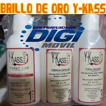 Cirugia Capilar Y-kass Brillo De Oro 2 Onzas - 3 Pasos