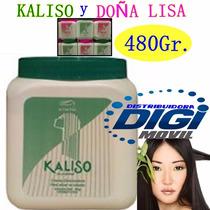 Crema Desriz Kaliso Y Doña Lisa Para Alisar El Cabello