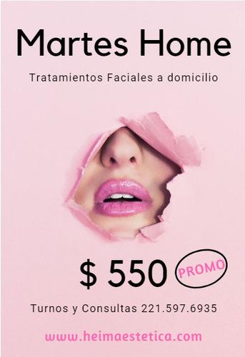 tratamientos faciales - consultorio - domicilio