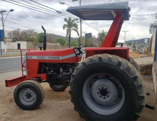 trator agrícola massey ferguson 265 ano 1989