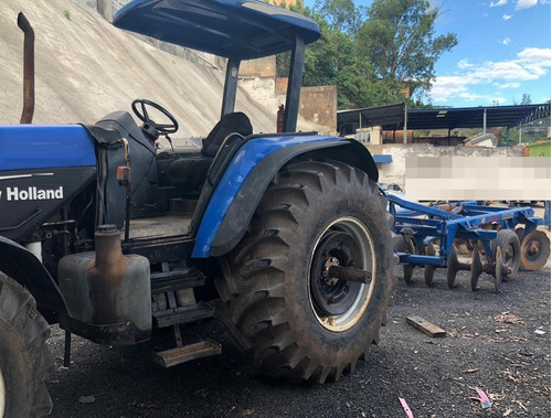 trator agrícola new holland tm150 ano 2003 - grade tatu 2016