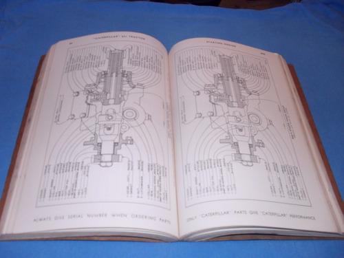 trator caterpillar 631 manual original
