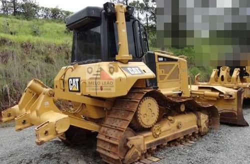 trator caterpillar d6 n c/ ripper  - ano 2012 - ar cond