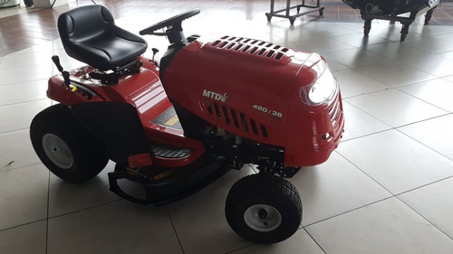 trator cortador de grama mtd 13,5 hp