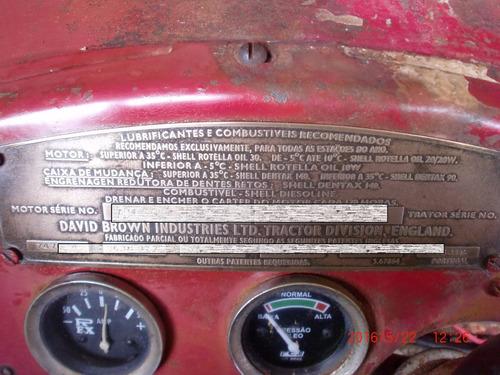 trator david brown 900