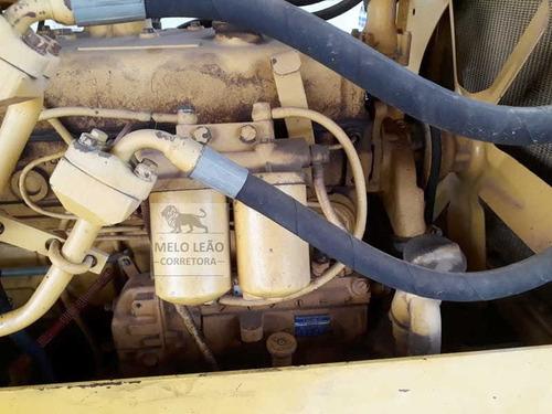 trator de esteira komatsu d30e 16b - ano 1986 - motor mb