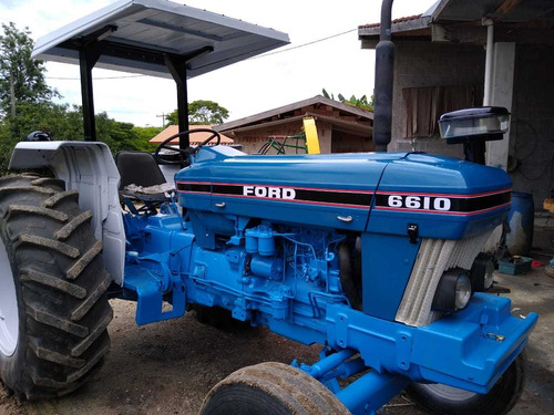 trator ford 6610 ano 1986