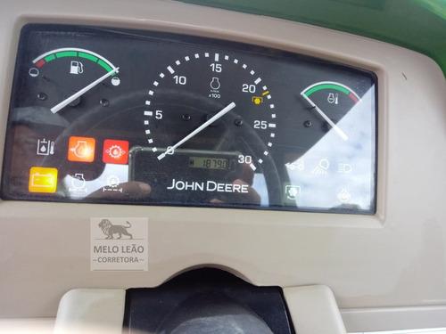 trator john deere 110j - ano 2010 - com 900 horas de uso