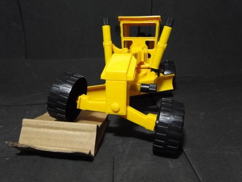 trator motoniveladora patrola articulada brinquedo bitrem
