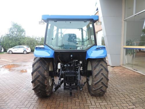 trator new holland - tl75 cabinado