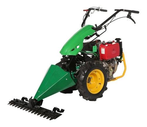 tratorito cortador de grama roçadeira a diesel 10 hp