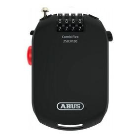Trava Abus Combiflex P/ Capacete / Moto / Bike - Anti Roubo