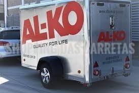 trava al-ko r60 - munheca engate rápido reboque carreta