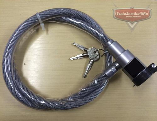 trava anti furto estepe renault duster oroch 160 cm