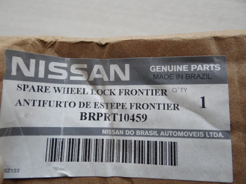 trava anti-furto para estepe original nissan frontier