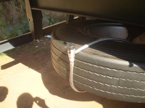 trava anti furto roubo estepe caminhonete travanjo blindado