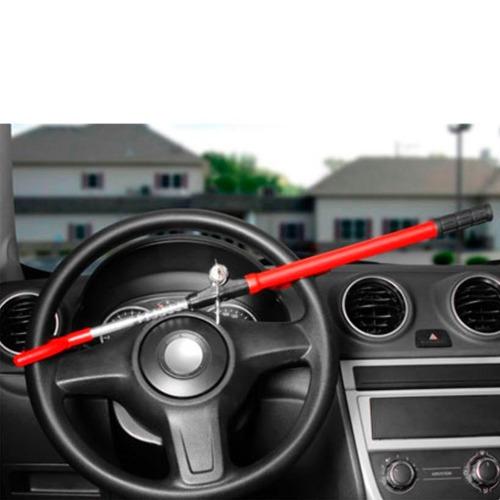 trava antifurto segurança volante universal 2 chaves tetra