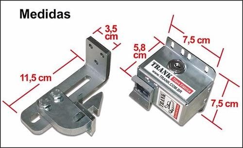 trava cadeado elétrico trank b10 portão automático basculant