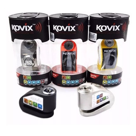 Trava Disco C/ Alarme Universal Para Todas As Mot Moto Kovíx