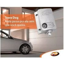 trava eletrica portão ppa dog + placa temporizadora